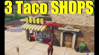 """How To """"Visit 3 Diffrent Taco Shops In A Single Game"""" Week 9 Fortnite Battle Royale"""