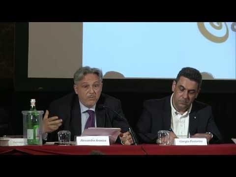 Alessandro Aronica (Adm) al convegno As.Tro di Milano