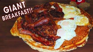 ULTIMATE PANCAKE BREAKFAST FOOD CHALLENGE!!