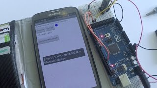 Arduino HC-05 bluetooth to Android AI2 app
