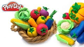 Play doh Vegetables. Making Tutorial Vegetable for Kids. Toys For Kids. Play-Doh Food. DIY for Kids