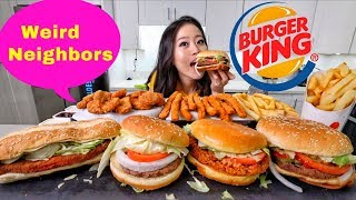 BIG BURGER KING | MUKBANG | Eating Show