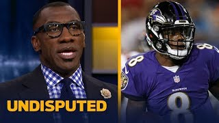 Skip Bayless and Shannon Sharpe on if Lamar Jackson should start week 1 | NFL | UNDISPUTED