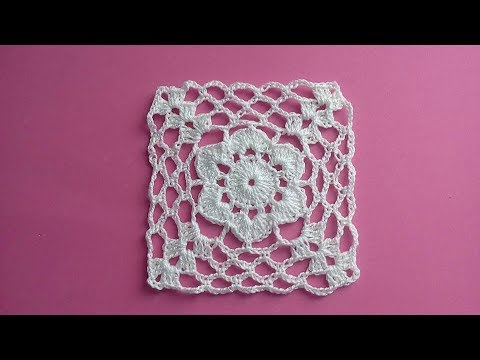 Manteles tejidos a crochet cuadrados - Camino de mesa elegante en crochet ...