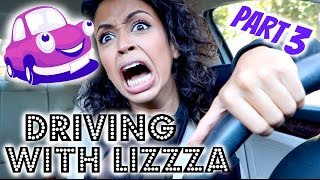 CRASHED MY CAR?! DRIVING WITH LIZA PART 3!!