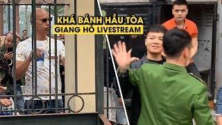 Rộn ràng livestream sống ảo trước phiên tòa xét xử Khá Bảnh