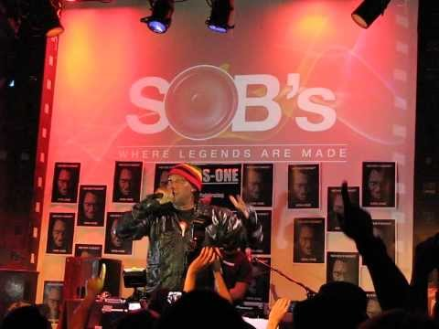 KRS-ONE I'm Still #1 + Classical Routine SOB's NYC August 15 2013