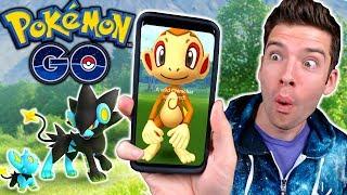 Catching NEW Gen 4 Pokemon in Pokemon Go!