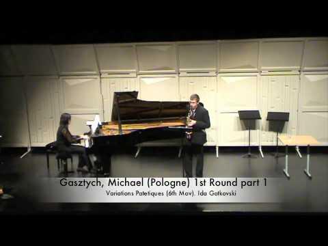 Gasztych, Michael (Pologne) 1st Round part 1