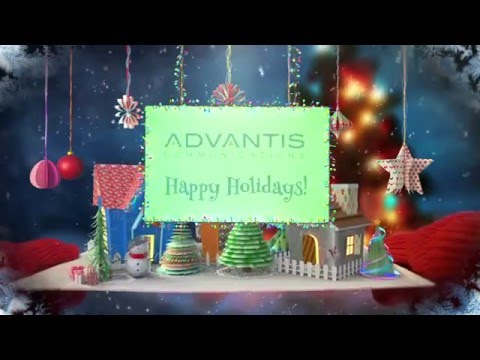 Seasons Greetings from the Advantis Team!