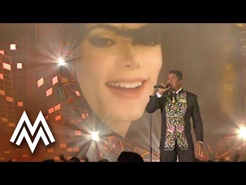 Michael Jackson   Wins the 'Lifetime Posthumous Achievement Award'   2009   MOBO