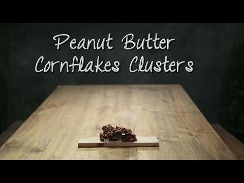 Snack Attack Firangi Twist - Peanut Butter Cornflakes Clusters