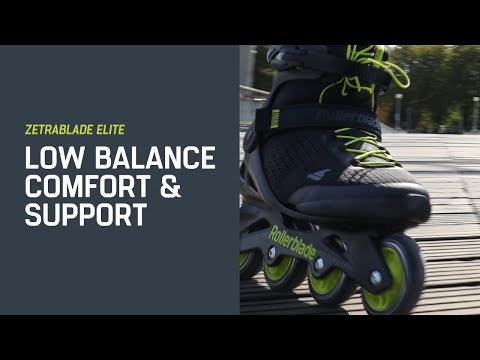 Video ROLLERBLADE Roller ride and fitness ZETRABLADE ELITE - 21 Black Lime