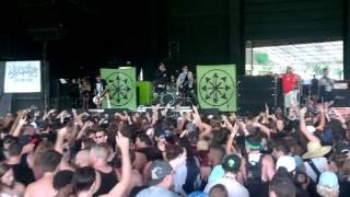 Attila - Middle Fingers Up (Vans Warped Tour 2017, ATL)