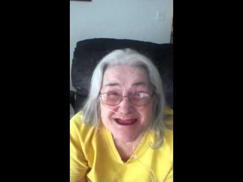 Secure Denture Adhesive >> Granny no teeth - YouTube