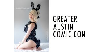 THIS IS COMIC CON GREATER AUSTIN COMIC CON 2018 GACC COSPLAY MUSIC VIDEO VLOG ANIME TEXAS