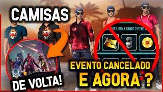 BARBA DO VELHO! GARENA VAI CANCELAR ELA NO EVENTO COMBO TRIPLO ?? CAMISAS DE MESTRE DE VOLTA!!!