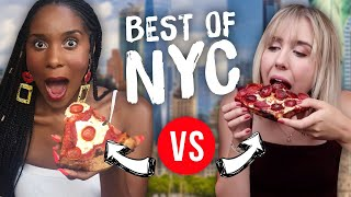 Taste Testing Famous NYC Foods & Picking Our Favorites