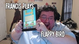 Francis Plays Flappy Bird