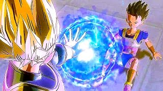 SSB Kaioken X10 Goku & Vegeta VS Hit & Cabba Full Fight (ENGLISH DUB) - Dragon Ball XENOVERSE 2