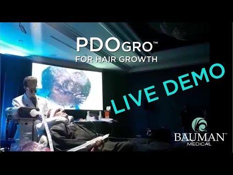 "PRP & PDO Thread ""PDOgro(TM)"" Live Demonstration, Alan J Bauman MD ABHRS, Hair Restoration Track, South Beach Symposium - Miami"