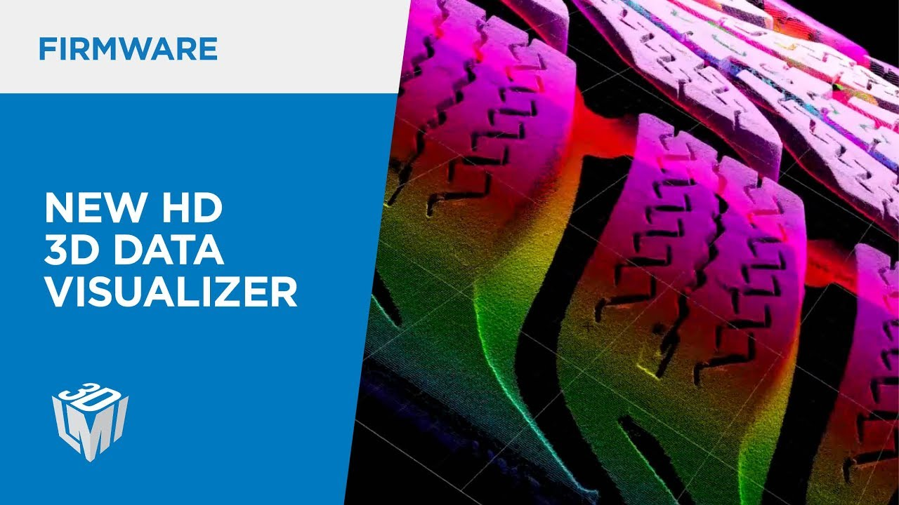 New HD 3D Data Visualizer in Gocator Firmware 5.0