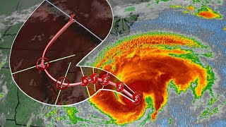 North Carolina prepares for direct hit from Hurricane Florence overnight