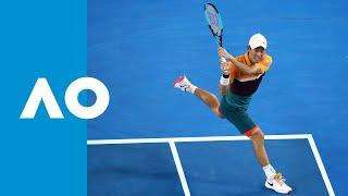 Full fifth set tiebreak: Nishikori wins a classic (4R) | Australian Open 2019