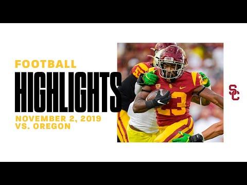 Football: USC 24, Oregon 56 - Highlights 11/2/19
