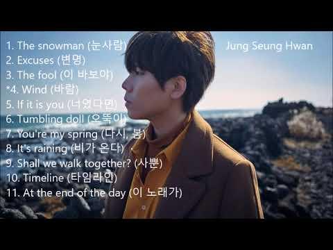 (정승환) Jung Seung Hwan - Best Songs Compilation 노래 모음