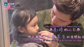 Vietsub | Giả Nãi Lượng và con gái Điềm Hinh | Hậu trường phim