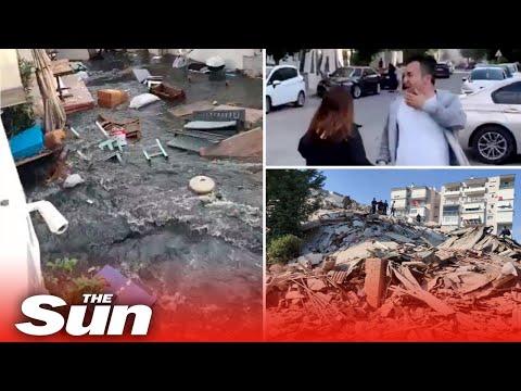 Turkey earthquake – Massive 7.0 quake rocks Izmir 'triggering tsunami'