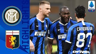 Inter Milan 4-0 Genoa | Lukaku Brace as Inter top the Table | Serie A TIM
