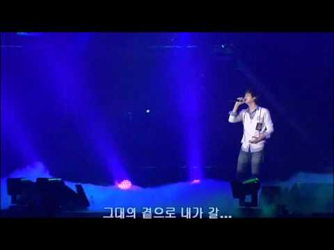 Shin Hyesung suddenly Laugh in the end of concert