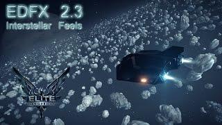 "Elite Dangerous | EDFX 2.3 ""Interstellar Feeling"" vs Vanilla comparison"