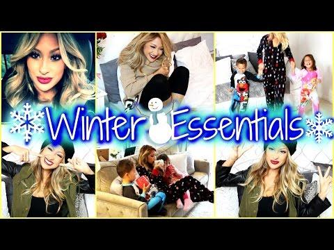 My Winter Essentials! Makeup, fashion, & more!