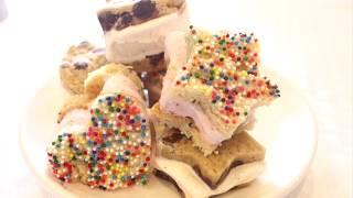 How to: Mini Ice Cream Sandwiches