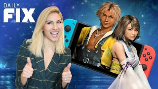 Final Fantasy Games On Switch Get a Release Date - IGN Daily Fix