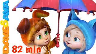 Rain Rain Go Away | Nursery Rhymes Collection and Baby Songs from Dave and Ava