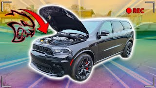 FIRST RIDE/REVIEW IN MY 108K 2021 HELLCAT DURANGO