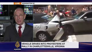 Rally in US city of Charlottesville turns deadly as car rams into counter-protesters
