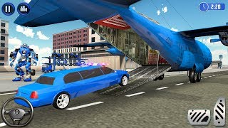 US Police Limousine Car Airplane Transport Games
