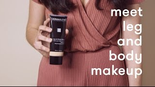 How To Apply Leg and Body Makeup | Leg Makeup Foundation Demo | Dermablend Professional
