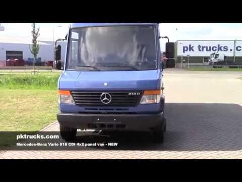 me3759 Mercedes Vario 818 CDI panel van - NEW