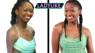 Women Try On Their Old Prom Dresses • Ladylike