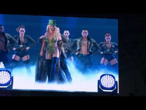 Britney Spears Live in Taiwan Taipei opening work Bitch