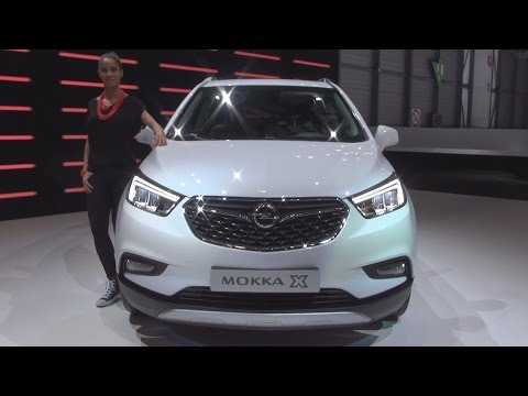 Opel Mokka X (2016) Exterior and Interior in 3D
