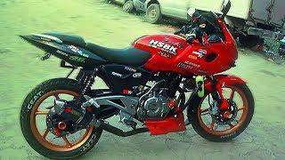 Pulsar 150 modified bike in bd - Acid da Shawon