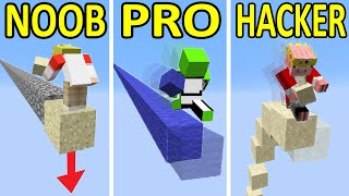 Minecraft NOOB vs PRO vs HACKER