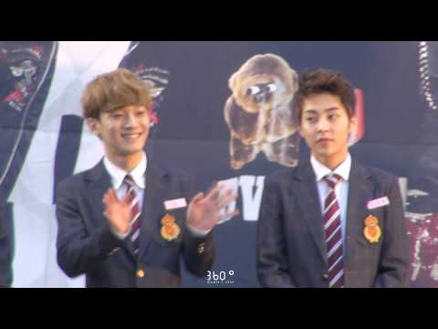 130915 대전팬사인회 EXO XIUMIN & CHEN